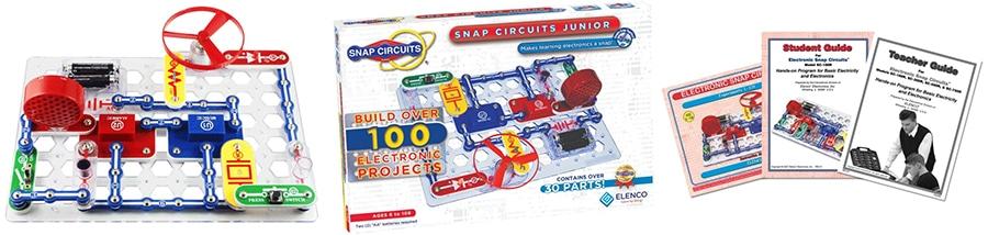Snap Circuits Jr. parts